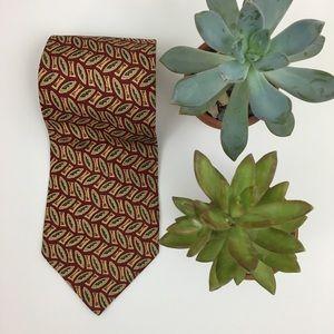 Banana Republic Silk Tie Made In Italy